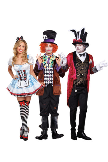 Alice In Wonderland Costumes 2018