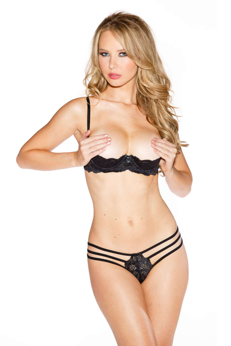 Stretch Lace Shelf Bra