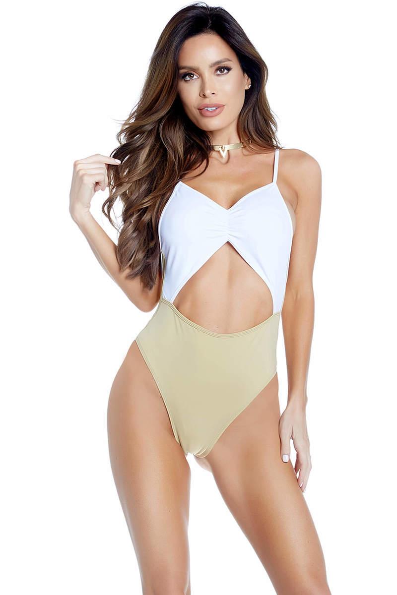 Cuba Cutout Monokini