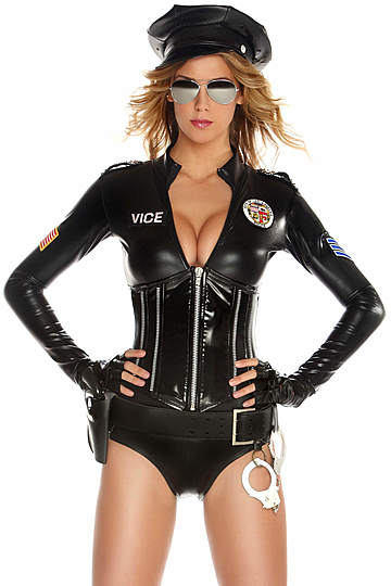 Mrs. Officer Sexy Cop Costume