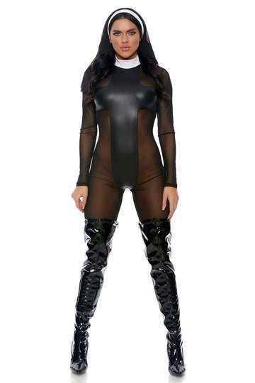 Sinful Sister Nun Costume