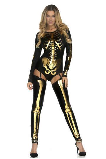 Skin & Bones Skeleton Costume