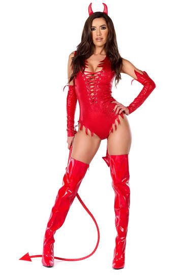 Sizzle N' Shine Sexy Devil Costume