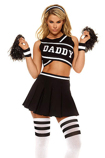 Who's Your Daddy Sexy Cheerleader Costume