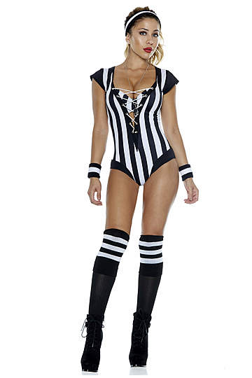 Flag On The Play Sexy Referee Costume