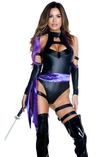 Sexy Dark Ninja Costume