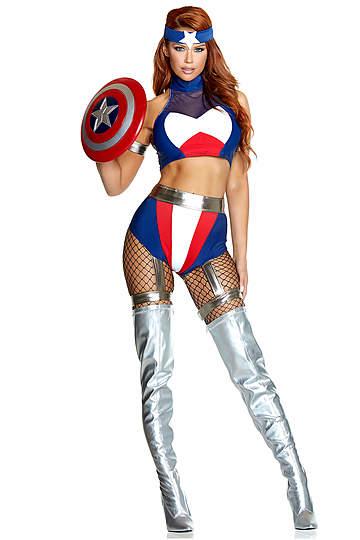 Super Soldier Sexy Costume