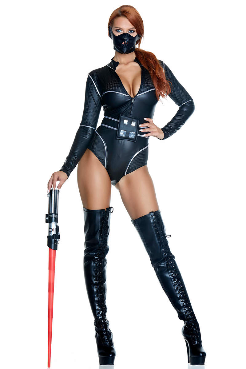Fine & Forceful Sexy Movie Character Costume