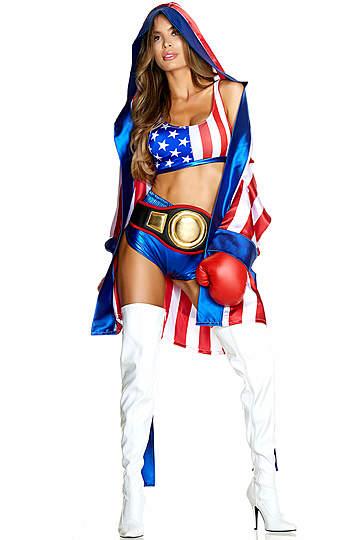 Get Em Champ Boxer Costume