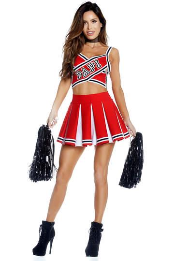 Papi's Prize Sexy Cheerleader Costume