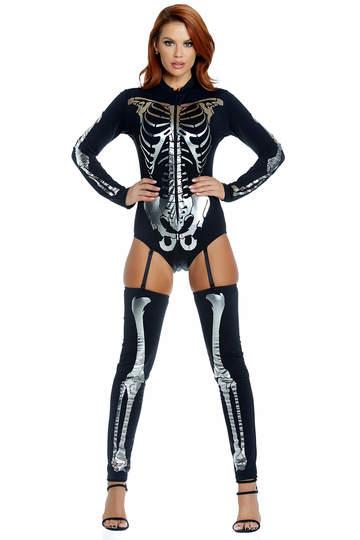 Bone to Pick Skeleton Costume
