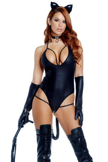 Bombshell Sexy Kitty Costume