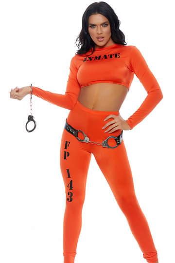 Cuff Me Inmate Costume
