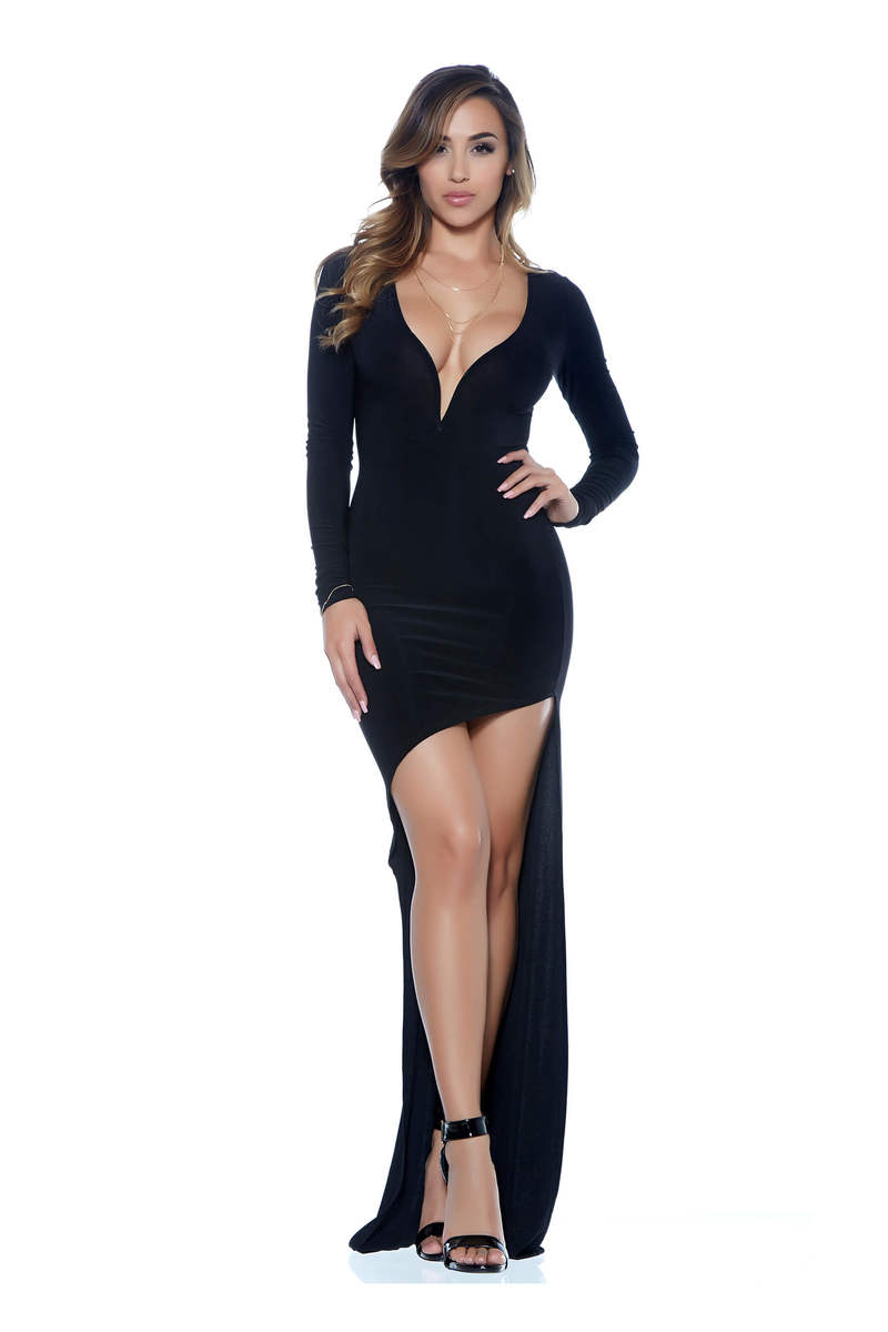 Eve Asymmetrical High-Low Dress