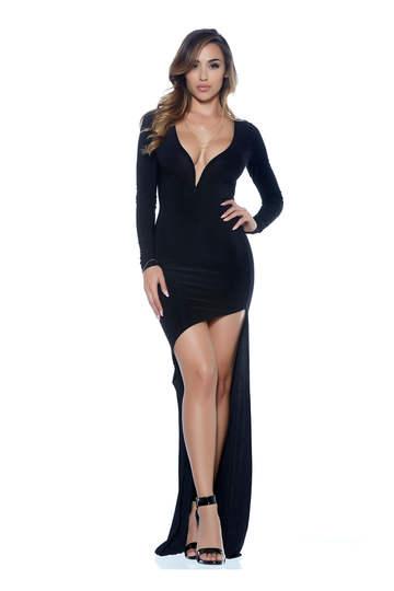 Eve Asymmetrical High-Low Dress