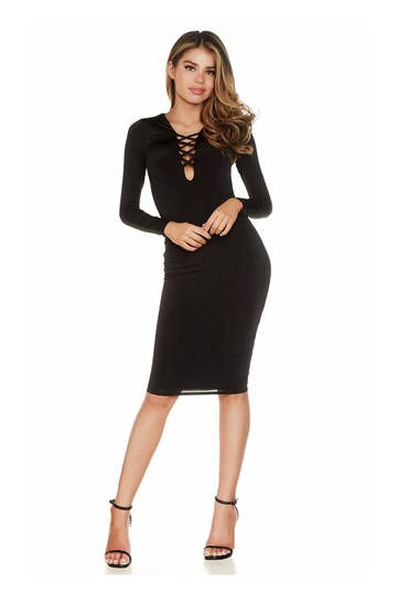 Cross My Heart Midi Dress