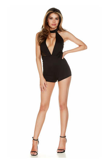 Back In Town Halter Romper