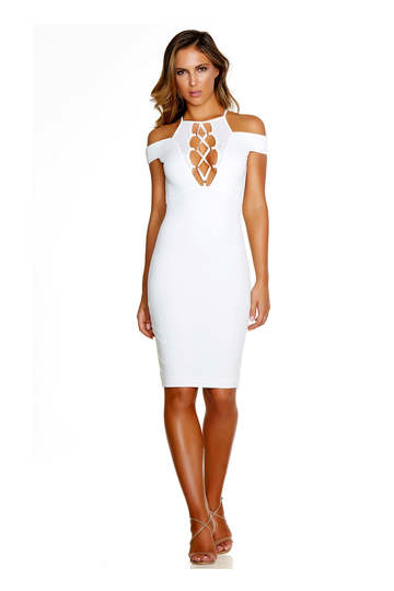 Your Lace Or Mine Midi Dress