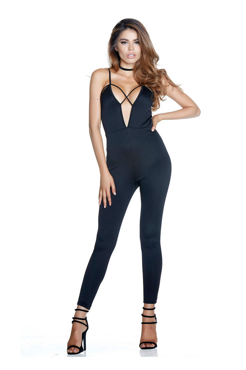Need A Jump Strappy Jumpsuit