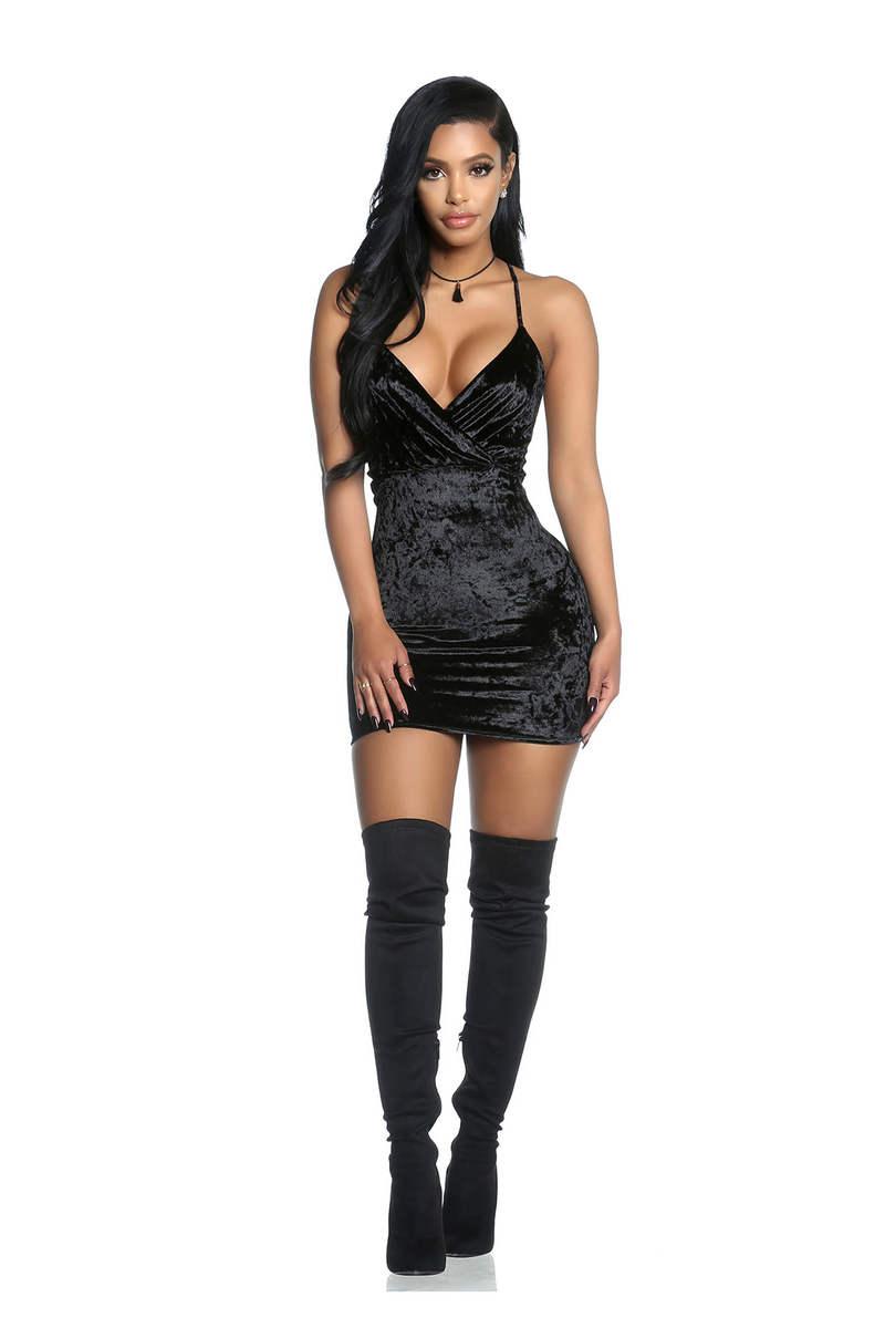 Crushin' Hard Mini Dress