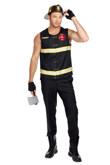 Fire Away Men's Costume