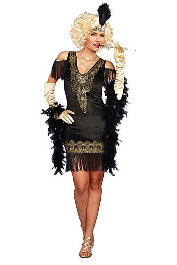 Swanky Flapper Costume