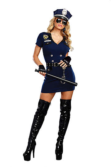 Officer Pat U. Down Costume