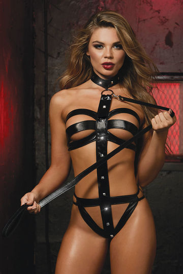Dominatrix Strappy Teddy