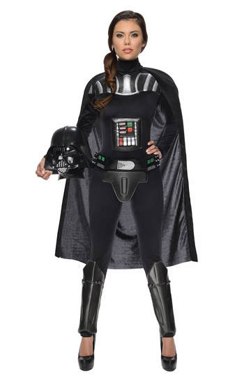 darth vader female halloween costume