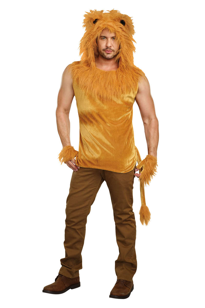 King Of The Jungle Men's Costume
