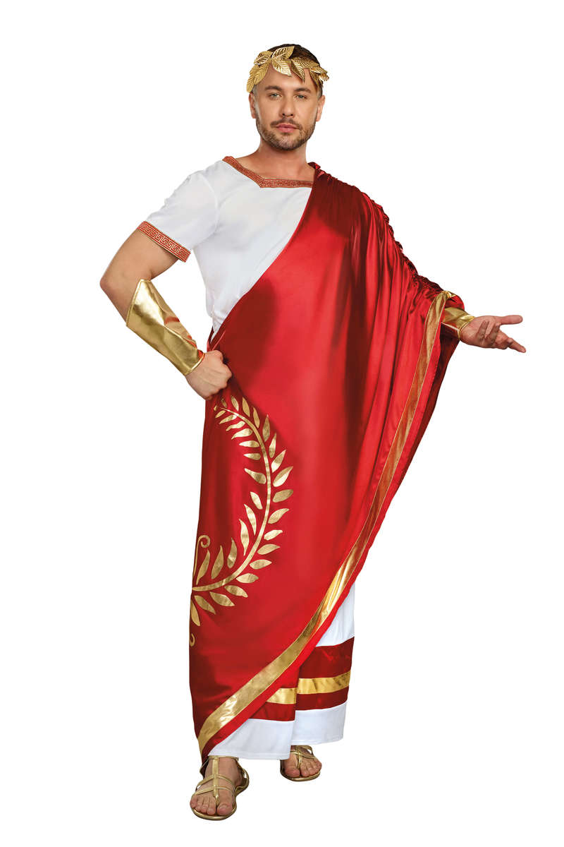 Caesar Emperor Men's Costume