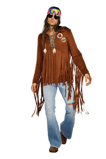 Hippie Dude Men's Costume