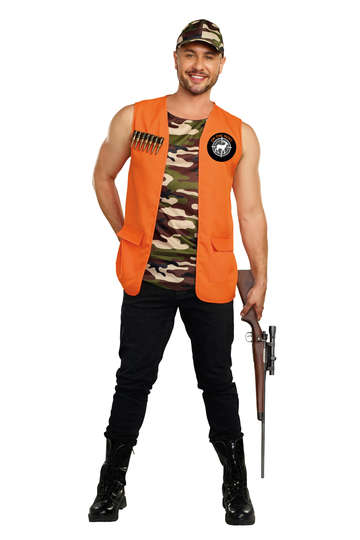 On The Hunt Men's Costume