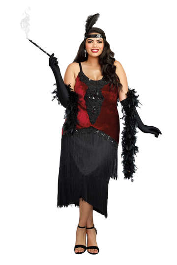 Million Dollar Baby Plus Size Women's Costume