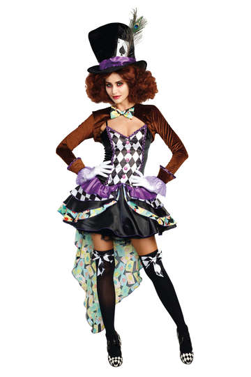 Hatter Madness Women's Costume
