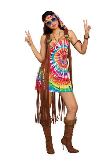 Hippie Hottie Women's Costume