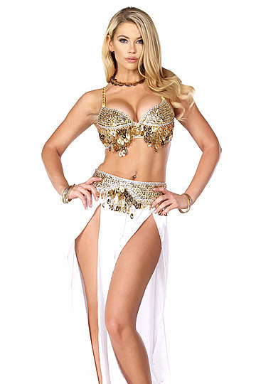 Harem Nights Sexy Belly Dancing Costume