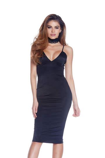 Major Key Midi Dress