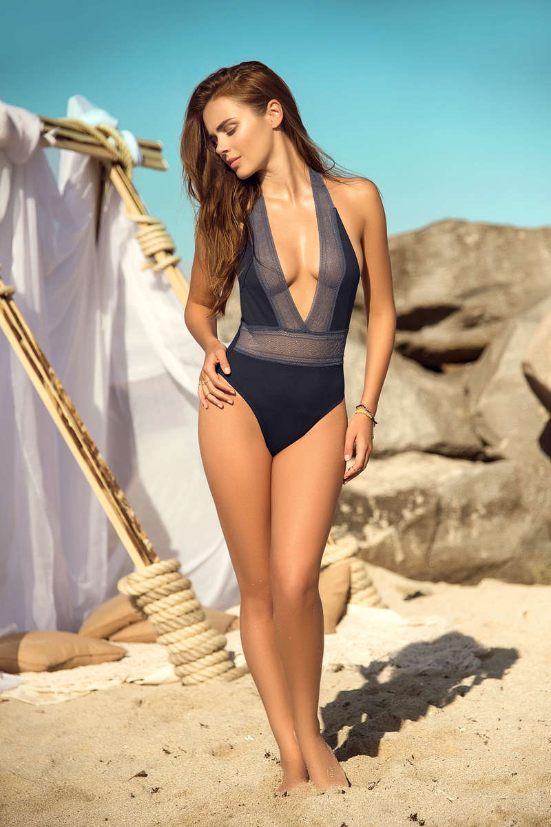 Banded Beauty One Piece Swimsuit