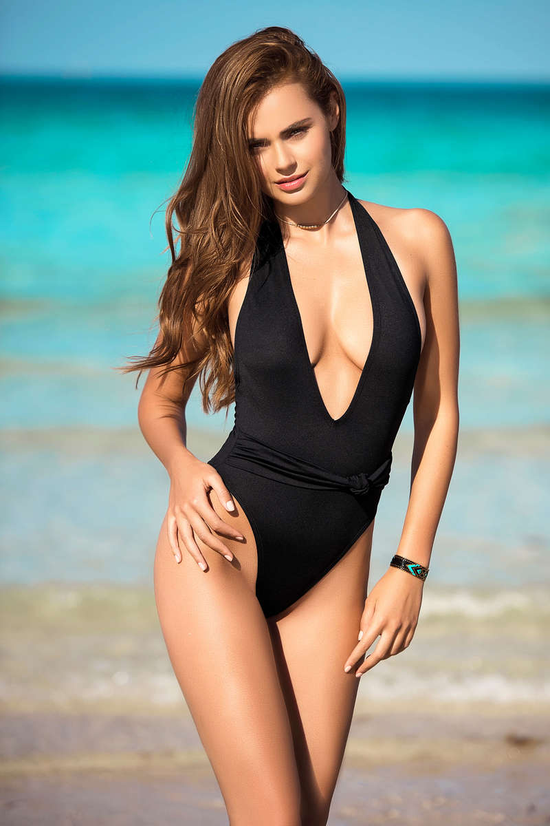 Refined One Piece Swimsuit