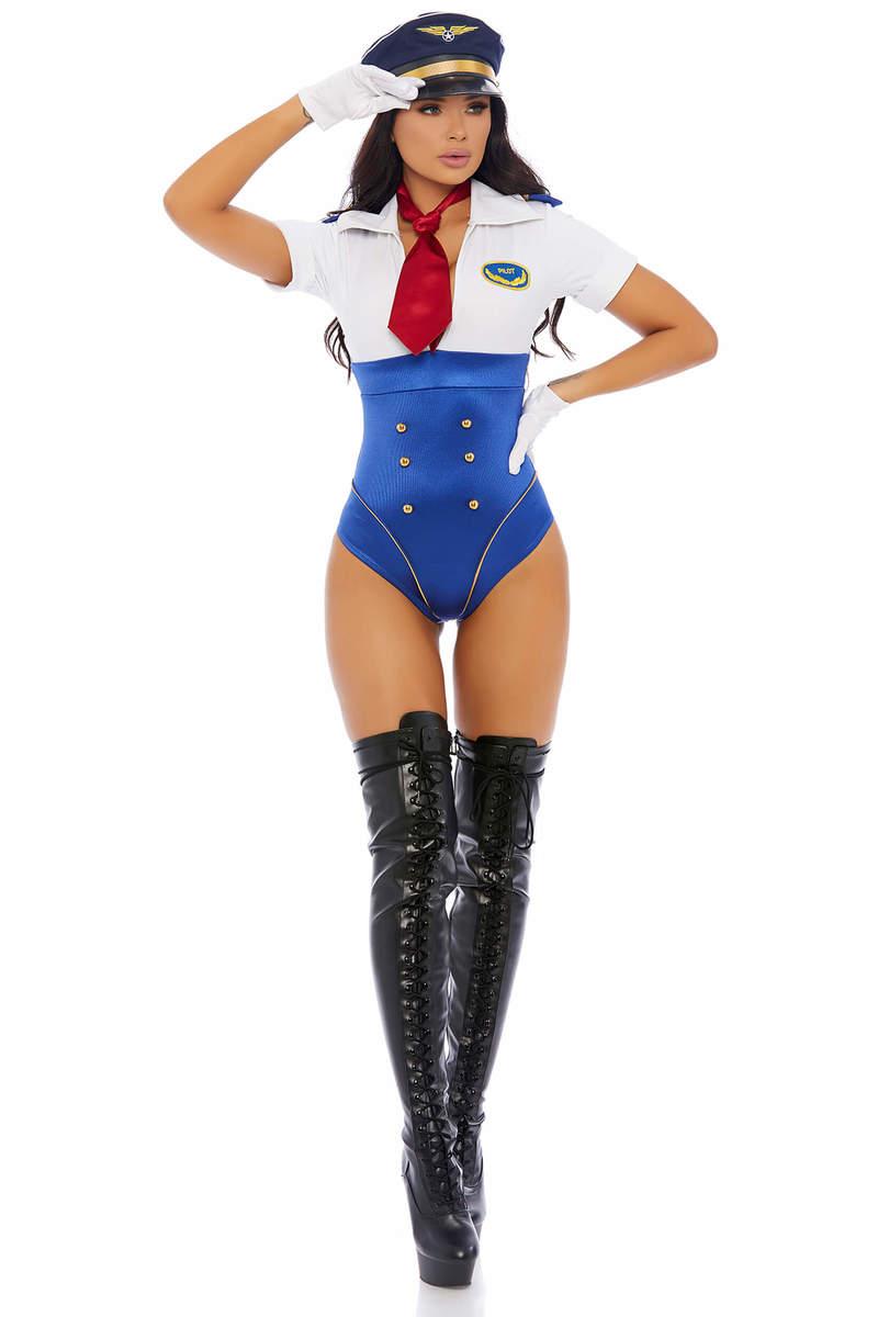 In Control Sexy Pilot Women's Costume