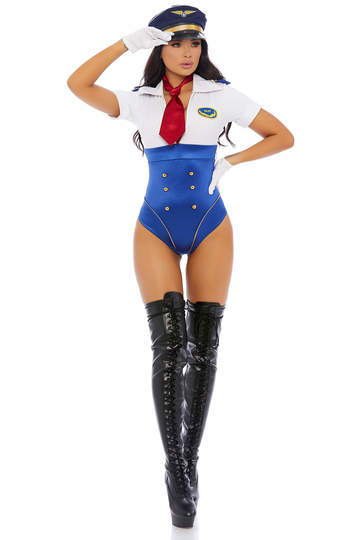 In Control Sexy Pilot Women's Costume