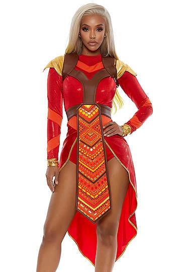 Wakanda Forever Warrior Costume