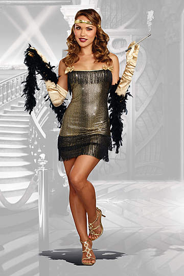 Shimmy Shake Flapper Costume