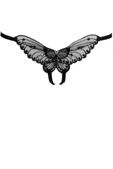 Butterfly Crotchless Panty