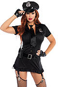 Dirty Cop Women's Costume