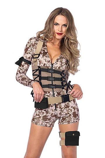 Battlefield Babe Costume