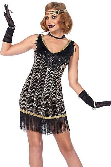 Charleston Charmer Flapper Costume