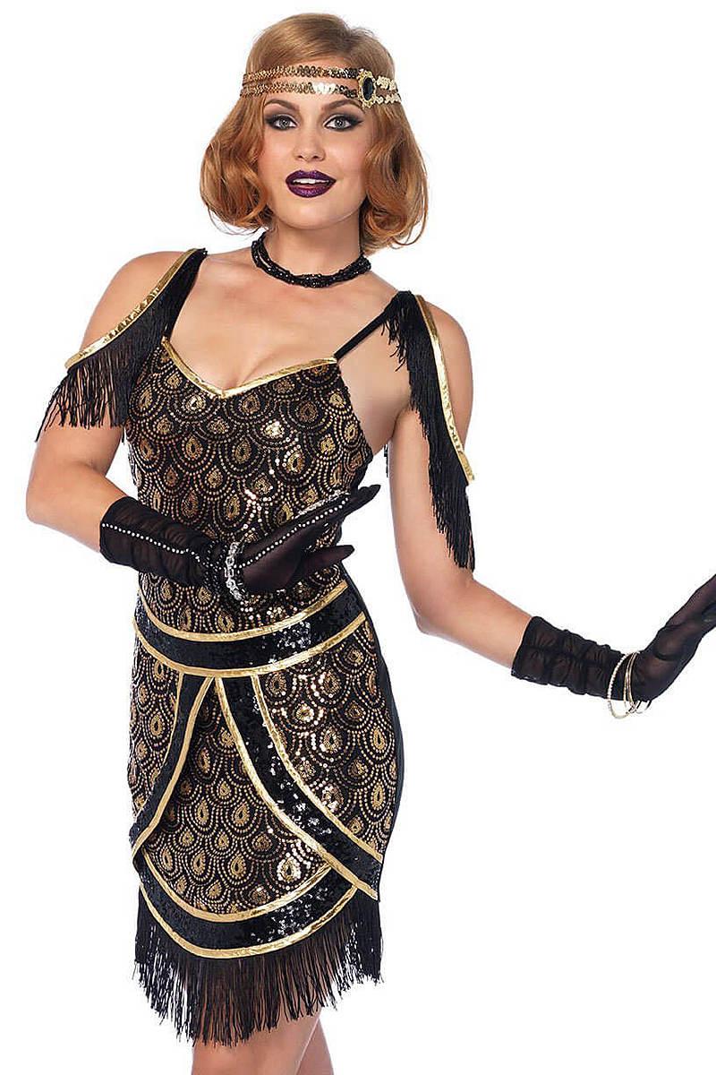 Speakeasy Sweetie Flapper Costume
