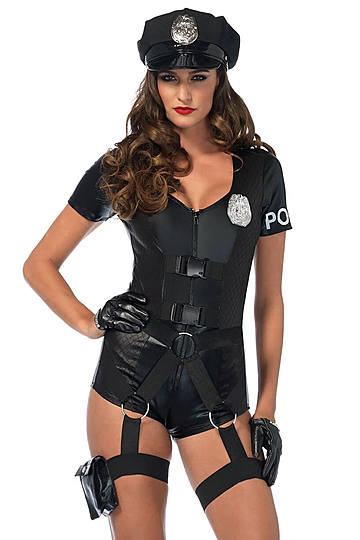 Flirty Five-O Police Officer Costume